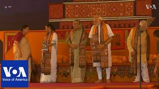 Bangladesh PM Hasina Visits Shantiniketan, Meets Modi - VOAVIDEO