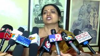 Jeevitha Rajasekhar Speaks to Media over Tollywood Drugs Mafia || NTV - NTVTELUGUHD