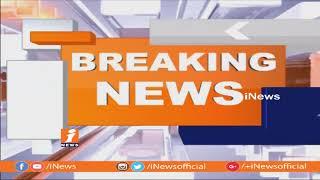 అందరూ చూస్తుండగానే మహిళను కాలితో తన్నిన MPP Immad Gopii | iNews - INEWS