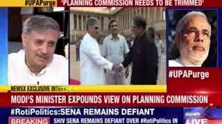 Modi's Minister expounds view on Planning Commission - NEWSXLIVE