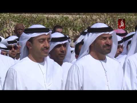 سمو الشيخ عبدالله بن زايد يشهد رفع علم الدولة احتفالا بيوم العلم