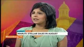 Market Pulse: Maruti: Stellar Sales In August - BLOOMBERGUTV