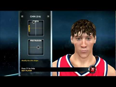 NBA 2K12 - How To Create Jan Vesely