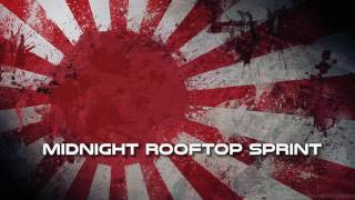 Royalty FreeBackground:Midnight Rooftop Sprint