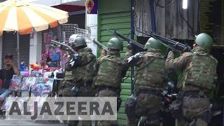 Brazil army shuts down largest favela in Rio de Janeiro - ALJAZEERAENGLISH