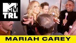 Mariah Carey Shocks Superfans w/ 'Always Be My Baby' & 'GTFO' Sing-Alongs | TRL - MTV