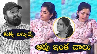 Rashmika Gets Angry On Director Venky Kudumula About Dog Biscuits - TFPC - TFPC