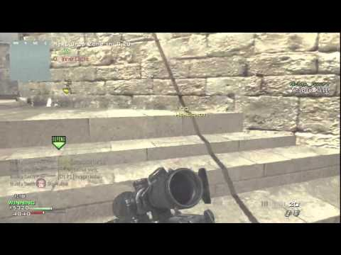 MW3: Triple Collateral On Seatown Clip #1