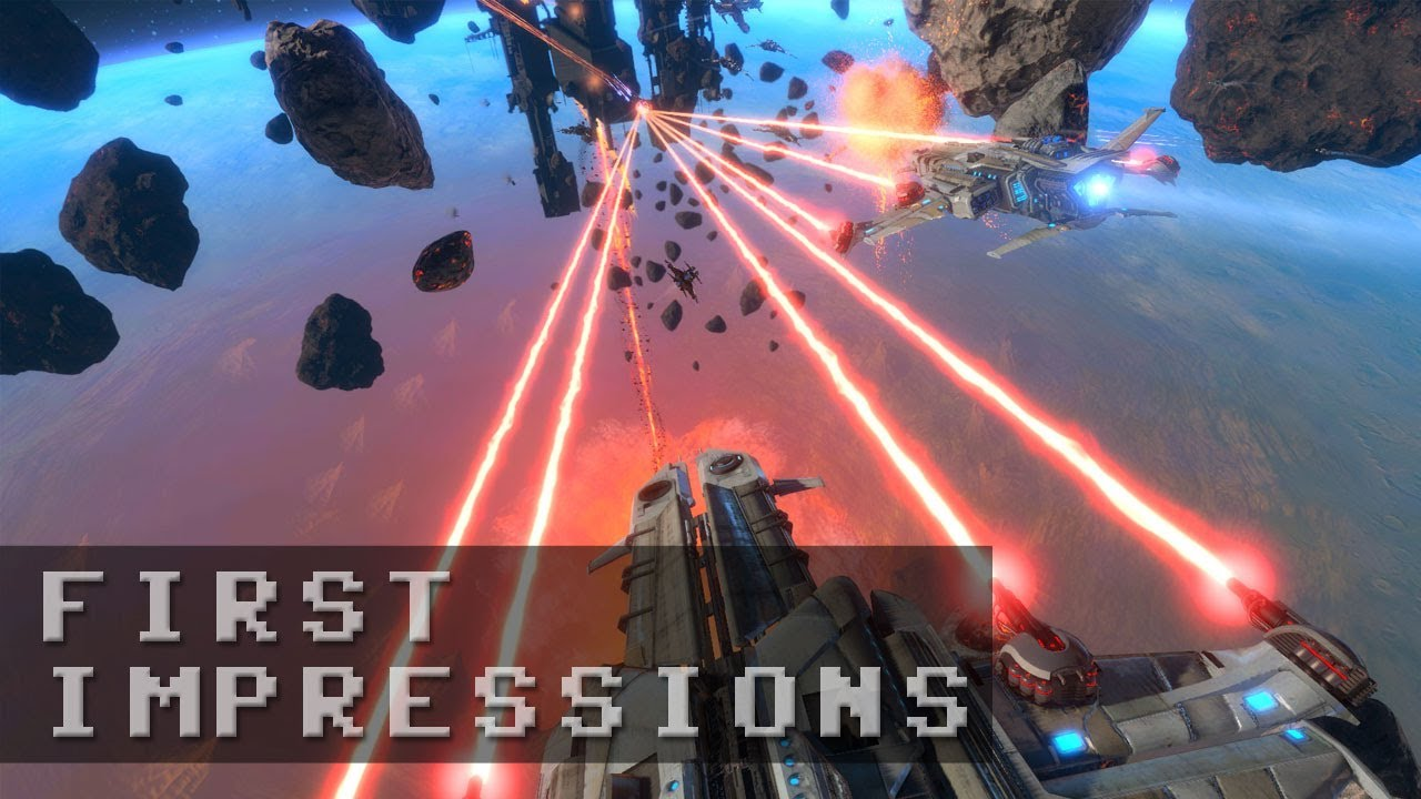 Star Conflict Gameplay - First Impressions HD