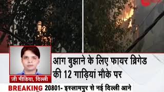 Breaking: Huge fire at Delhi's Naraina at Archies card factory - ZEENEWS