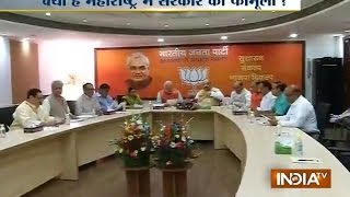 Will BJP tie with Shiv-sena to form govt in Maharashtra? - INDIATV