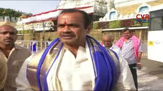 ఏపీకి ప్రత్యేక హోదా ఇవ్వాల్సిందే | Komatireddy Venkat Reddy visits Tirumala | CVR News - CVRNEWSOFFICIAL