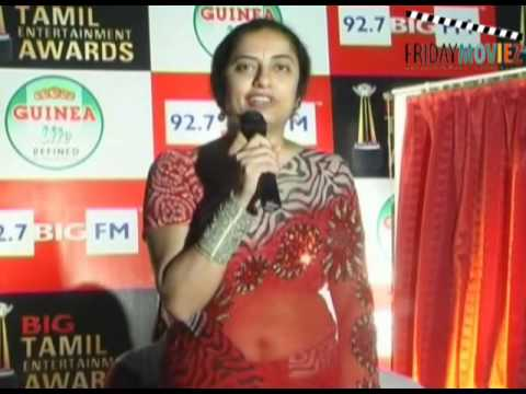 Actresses Khushboo and Suhasini and Rohini launch the Tamil Entertainment Awards