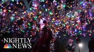 How One Small Christmas Tree Helps A Community Heal | NBC Nightly News - NBCNEWS