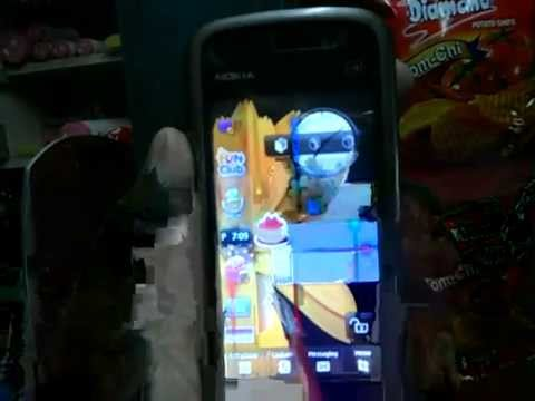 Nokia 5233 Modified in Custom Firmware Samsung Omnia homescreen + Android + Nokia OS