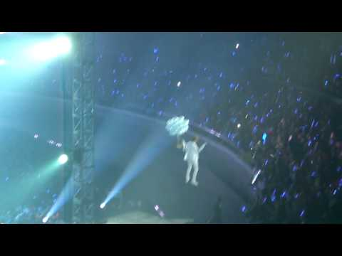 Super Junior - No Other (Sungmin & Leeteuk Flying Cut) @ SS3 Manila 02.26.2011
