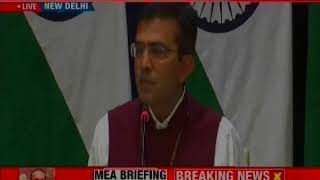 MEA Briefs Media On Nirav Modi's Extradition— The $1.8 billion Punjab National Bank Fraud Case - NEWSXLIVE