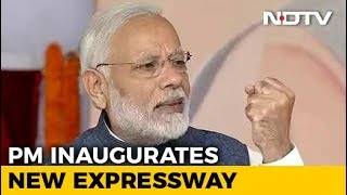 PM Modi Inaugurates Expressway Aimed At Easing Delhi Traffic, Pollution - NDTV