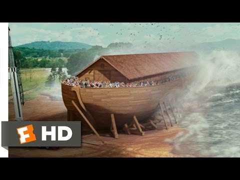 The Flood Comes Scene - Evan Almighty Movie (2007) - HD