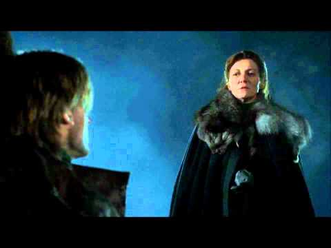 Game of Thrones - Catelyn Stark & Jaime Lannister Conversation