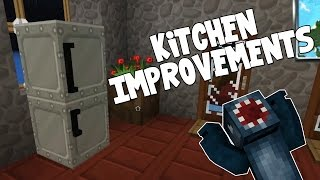 watch the youtube video Minecraft - Attack Of The B Team - Kitchen Improvements!! [35]