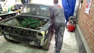 Покраска авто.Утро в гараже-так начинается наша работа!)