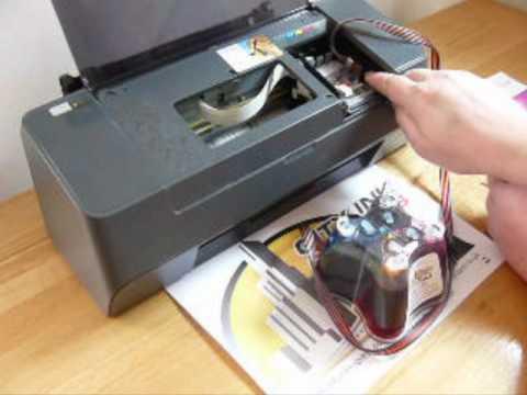 D92, D78,C79,C90,C91,C92 Cis Ciss continuous ink Install