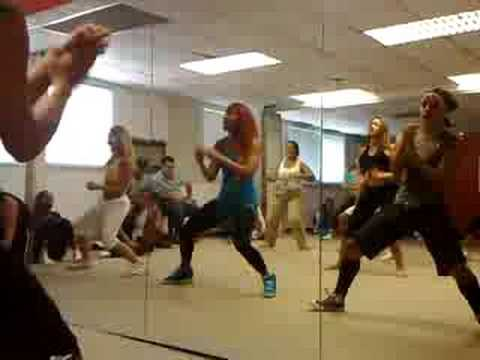 Taller Bailarinas de Wisin y Yandel Caracas Venezuela