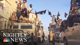 Raqqa Recaptured From ISIS By U.S. Backed Militias | NBC Nightly News - NBCNEWS