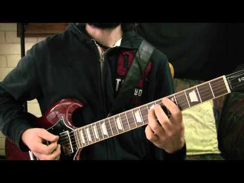 Guitar Lesson - Hair Metal Style Power Chord Colourations