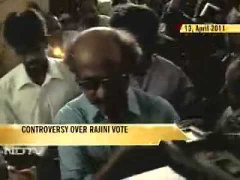 Rajini voted for AIADMK in 2011 Tamil nadu election