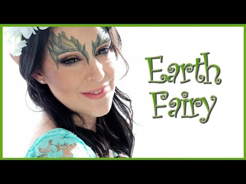 Fairy of the Earth makeup tutorial with AnaArthur81 | Silvia Quiros