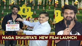 Naga Shaurya's New Movie Opening Video || Dil Raju | Allu Aravind | Sharath Marar | IndiaGlitz - IGTELUGU