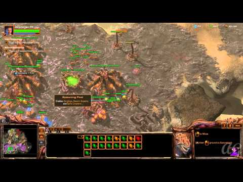 Starcraft 2: Heart of the Swarm - No Commentary Walkthrough 1080p HD Mission 3