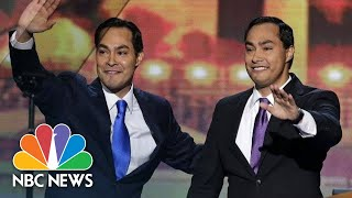 Joaquin Castro Announces Brother's Presidential Bid On 'Stephen Colbert' | NBC News - NBCNEWS