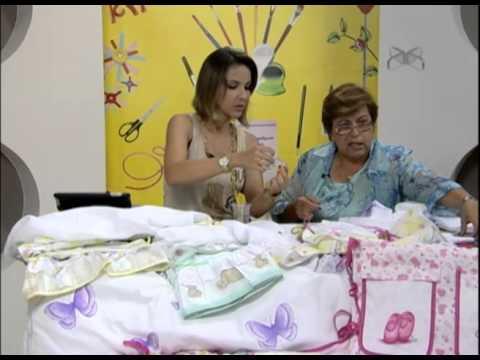 Mulher.com 21/01/2013 Filó Frigo - Pintura em fralda 2/2