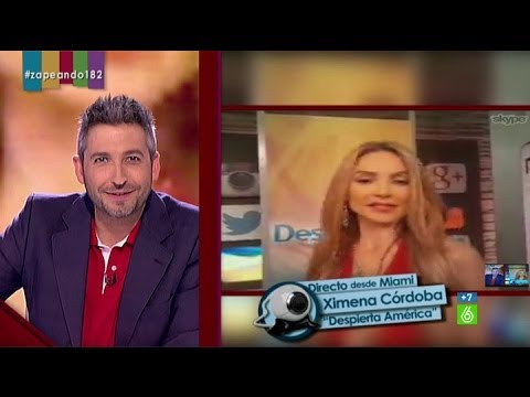"Ximena Córdoba: ""Me gusta esa barbita que tienes, te ves bien sexy"""