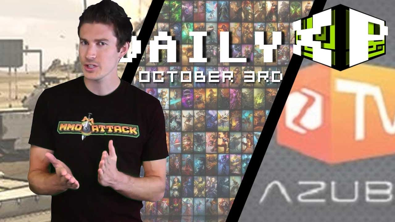 Guild Wars 2 Free Trial Extended, Azubu.TV, Tank Domination and more! | The Daily XP October 3rd