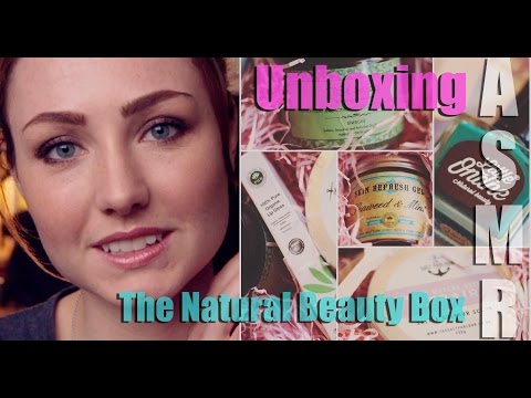 ASMR - Unboxing the Natural Beauty Box + Role-play at the end!