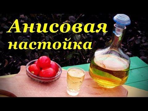 Настойка на анис на водке