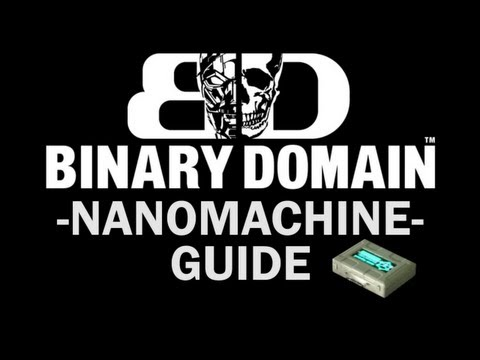 Binary Domain - All Nanomachine Locations (Skill Master Trophy / Achievement Guide)