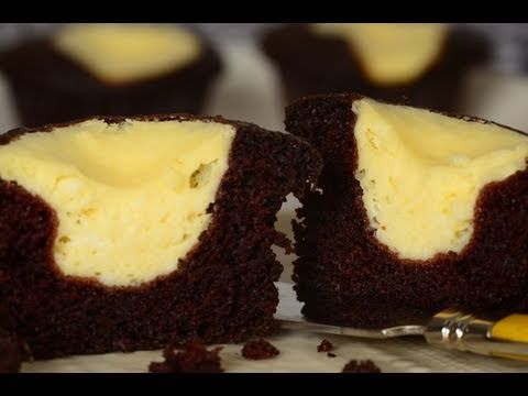Black Bottom Cupcakes Recipe Demonstration - Joyofbaking.com