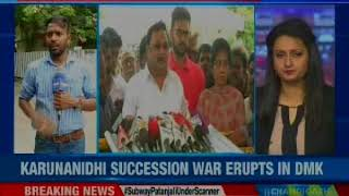 DMK succession row: Patrons of DMK on my side, says Alagiri - NEWSXLIVE