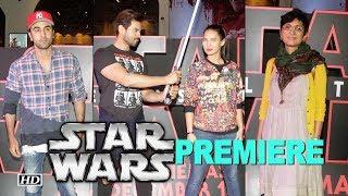 Star Wars PREMIERE: Ranbir Kapoor, Kiran Rao & others - IANSLIVE