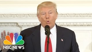 President Donald Trump Says His Budget 'Will Build Depleted  Military' | NBC News - NBCNEWS