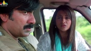 Krishna Movie Scenes | Ravi Teja and Trisha Escaping form Jakka | Sri Balaji Video - SRIBALAJIMOVIES
