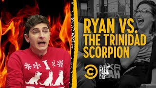 Foolish Comedian Tries a Trinidad Scorpion Pepper - COMEDYCENTRAL