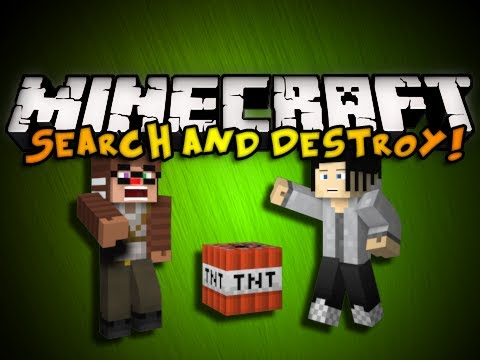 Minecraft Mini-Game: SEARCH AND DESTROY! (HD)