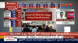 Telangana Election Results : Congress leader Harsha Vardhan Reddy Won in Kollapur | CVR News - CVRNEWSOFFICIAL