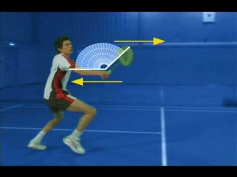 Badminton Technique - Forehand Net Lift